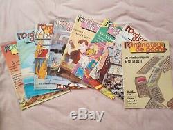 Revue l'Ordinateur de Poche n°1 à 23 Collection complète 1981-84
