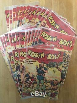 Robin des Bois Chott Collection complète des 32 numéros parus 1947/1950 BE