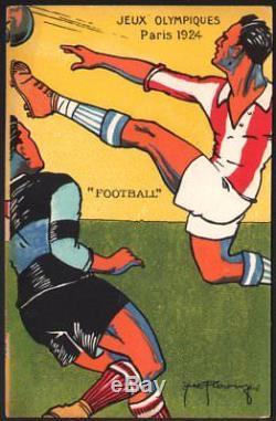 Roowi. Paris. Jeux Olympiques 1924. Série complète de 10 cartes