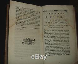 Rousseau Collection complète des oeuvres 35 volumes 1782 1790