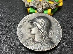 S7C Superbe médaille de la campagne de Chine 1900 1901 complète french medal