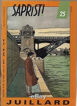 SAPRISTI. Collection complète des n°1 à 52. Fanzine Revue BD. ETAT NEUF