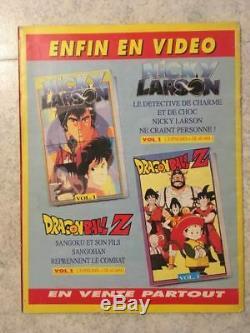 SFC/Panini DragonBall Z Le Livre en Images de tes Héros set complet + album