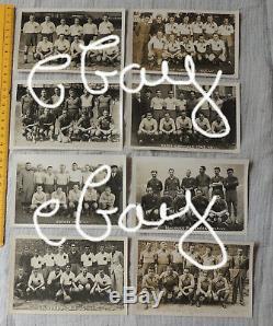 Série complète des 16 équipes Championnat de France football 1943/1944