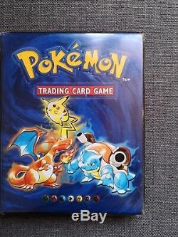 Set de base complet cartes Pokémon 1ère Édition et Album Officiel