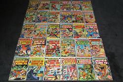 Spéciale Marvel Édition 15 16 Maître de Kung Fu 17 125 1973 Complet Série 1