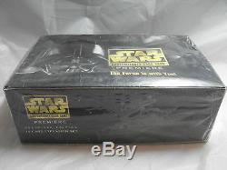 Star Wars Ccg Blanc Bordure Premiere Complet Scellé Booster Boîte de 36 Packs