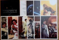 Star Wars Portfolio De Dell Otto Complet Avec Ses 9 Dessins Signes Tres Rare