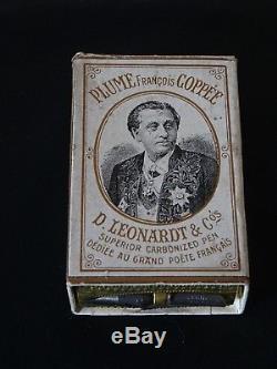 Superbe Boite De Plumes Complete Francois Coppee-leonard