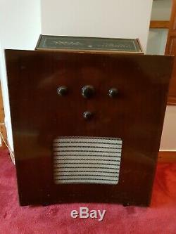 Superbe poste radio TSF MURPHY 188 C de1953, complet, d'origine, fonctionne