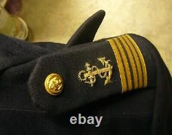 Superbe spencer tenue de gala Officier de la Marine Française complet
