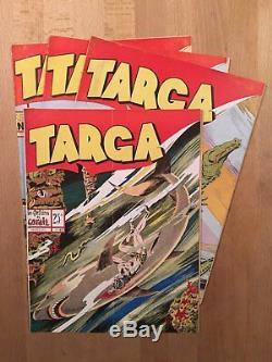 TARGA Collection complète des 22 premiers numéros en grand format 1947/49 BE