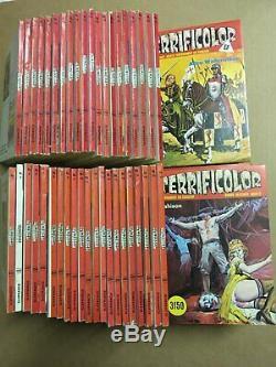 TERRIFICOLOR Collection complète des 62 numéros NEUF