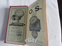 TRES BEAU GUIDE ROUGE FRANCE 1912 complet de ses 157 pages 1 signet BON ETAT
