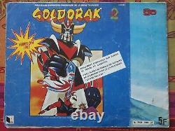 TRES RARE COMPLET Album Le Retour de Goldorak AGE France 1982 A2 Toei Animat