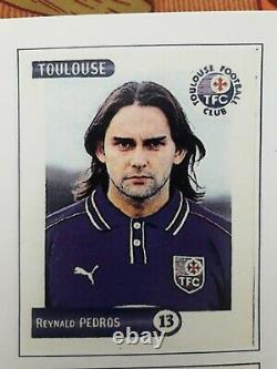 TRES RARE PANINI SET Spécial de transferts mercato hivernale foot 2001 France