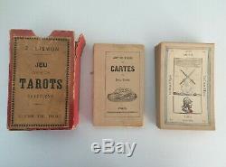 Tarot EGYPTIEN complet, Le Grand Etteila, ou l'Art de Tirer les Cartes 1853