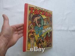 Tarzan Collection Recits Complets Reliure Amateur Couv La Cite Des Mayas
