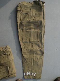 Tenue TAP 47 complète, bottes de saut et ceinturon TAP 50