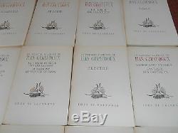 Théâtre complet de Jean Giraudoux 16 volumes édition numérotée EO (ref 41)