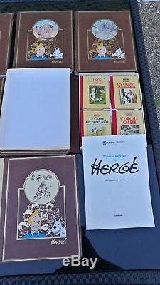 Tintin Collection Complete Rombaldi Avec Tous Les Supplements De L'epoque