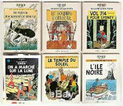Tintin Ensemble De 6 Pop-hop Série Complète. Les 6
