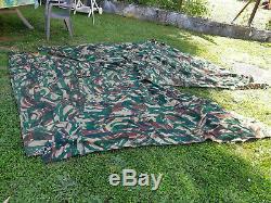 Toile de tente modèle 51 complète 4 parties
