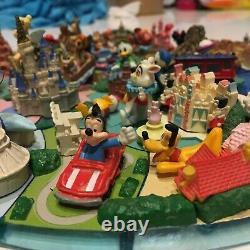 Tokyo Disney Land Mer 25th Coca Cola Limitée Diorama Figurine Complet 24 De Rare