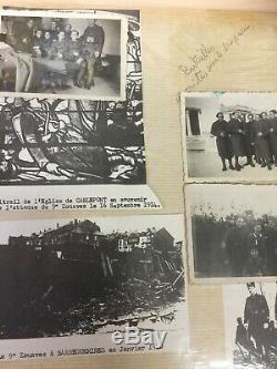 Uniforme complet 9e Zouaves de la Seconde Guerre mondiale, y compris papiers et