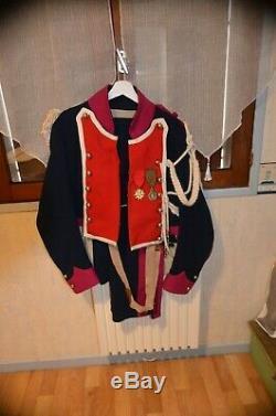 Uniforme complet de Lancier de la garde impériale de Napoleon 1er