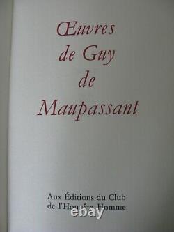 Uvres complètes de Guy de Maupassant