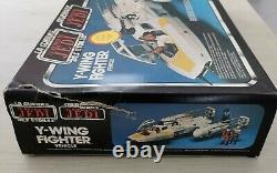 Vaisseau Star Wars guerre des étoiles Y-WING complet comme neuf Meccano 1983