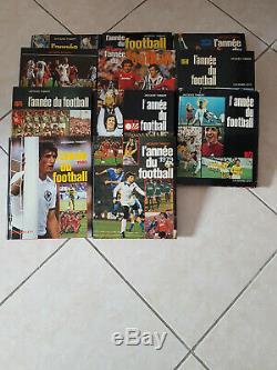 Vends coillection complete l'année du football de 1973 a 2017 soit 45 livres
