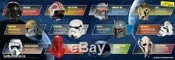 Vends collection COMPLETE NEUVE 80 casques Starwars de chez Altaya