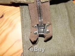 Veste de saut parachutiste anglais OVERSMOCK ww2 1944 Indochine complète