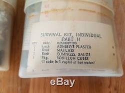 Vietnam Kit de survie de pilote. Daté 1963. Complet