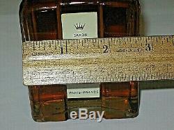 Vintage Caron Nuit De Noel Lotion / Cologne Flacon Parfum 170ml Ouvert / Complet