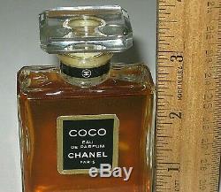 Vintage Parfum Bouteille Chanel Coco Eau de 50 ML 50ml Ouvert Complet