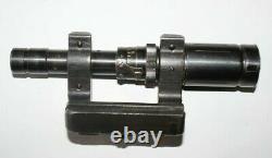 WW2 lunette scope ZF41 compléte avec boite de transport mono matricule