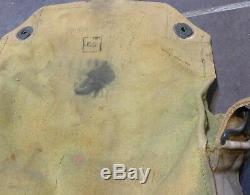 WWI masque US complet avec sa sacoche et son manuel de réparation 1914 1918