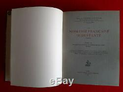 Woelmont de Brumagne La Noblesse française subsistante complet 4 volumes reliés