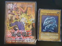 YUGIOH Deck de Démarrage Kaiba Complet/ Blue Eyes White Dragon 1ère Ed F001 Ex+