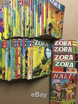 ZORA Collection complète des 52 numéros parus 1967/79 BE